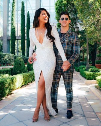 The Jonas brother took to Instagram to mark their one-year anniversary since their first date. (Photo: Instagram)