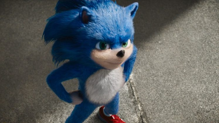 People on social media where quick to notice Sonic had white hands instead of its iconic white gloves. (Photo: Release)