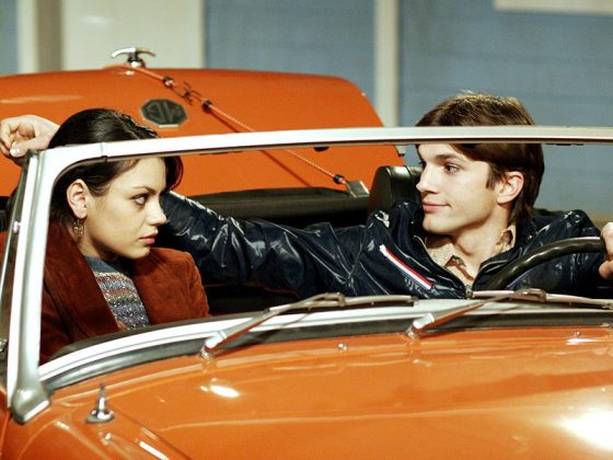 "The two met on the set of ""That '70s Show."" (Photo: Release)"