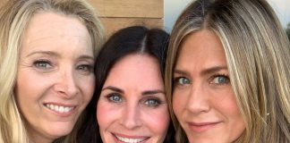 The girls reunited to celebrate Courteney Cox birthday. (Photo: Instagram)
