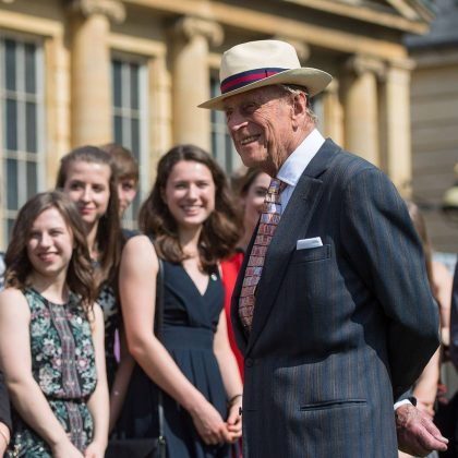"He had pennies to his name when he got married. Prince Philip's bank account was filled with roughly 15 cents before he said ""I do"" to Elizabeth. (Photo: Instagram)"
