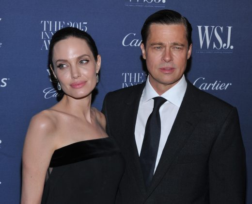 Shortly after her divorce from Brad Pitt, Angelina Jolie moved to Los Feliz neighborhood in Los Angeles, where she's neighbors with Keanu's mom, Patricia Taylor. (Photo: WENN)