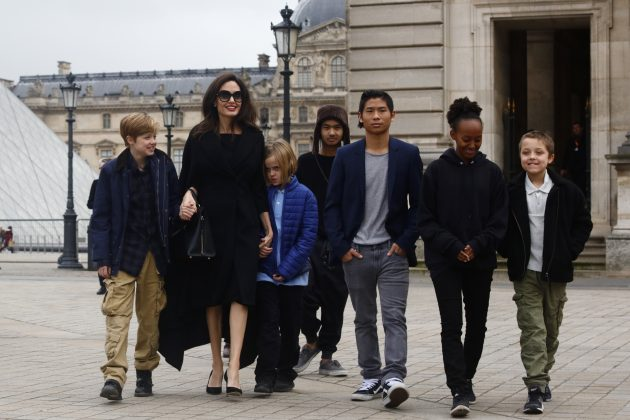According to reports, Keanu has already met Angelina's six children and gets along with them. (Photo: WENN)