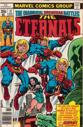 """The Eternals"" is based in the eponymous 1976 Marvel comic. (Photo: WENN)"