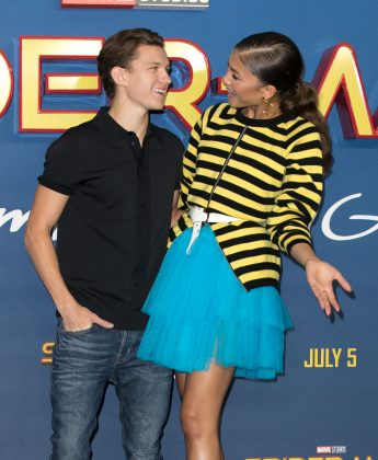 Tom Holland and Zendaya have notoriously become close friends while staring in the franchise. (Photo: WENN)
