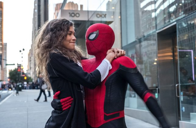 They play Peter Parker and romantic interest MJ respectively on the big screen. (Photo: WENN)