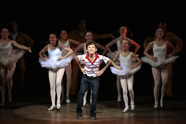 "As if being a webs-linger wasn't impressive enough, Tom Holland is also a gifted dancer and. He was Michel in ""Billy Elliot the Musical."" (Photo: Release)"