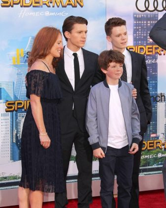 Tom is not only a superhero, he's also a super brother and son. He's very family oriented and even brought his mom and siblings to a Spider-Man premiere. (Photo: WENN)
