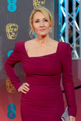 "J.K. Rowling was accused of stealing ideas for the fourth instalment of her series from the 1987 book ""The Adventures of Willy the Wizard."" She won the case, however. (Photo: WENN)"