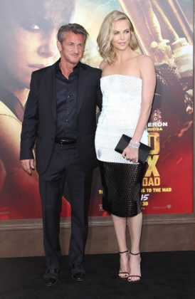 "After she called off their engagement, Charlize Theron and Sean Penn had to reunited one year later while doing press for his film ""The Last Face,"" in which she starred. (Photo: WENN)"