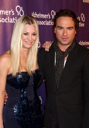 After 2 years of dating, Kaley Cuoco and Johnny Galecki decided to be just friends. They went on to film 9 more seasons together an even became husband and wife onscreen. (Photo: WENN)