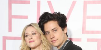 "Lily Reinhart and Cole Sprouse had a messy breakup over the summer, but they'll still have to see each other as they continue to film the new season of ""Riverdale."" (Photo: WENN)"