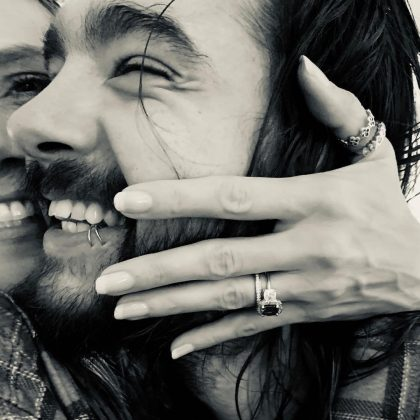 Heidi and Tom shared the news of their engagement in December 2018. (Photo: Instagram)