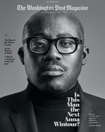 Edward Enninful made history as Vogue's first openly gay editor-in-chief. (Photo: Instagram)
