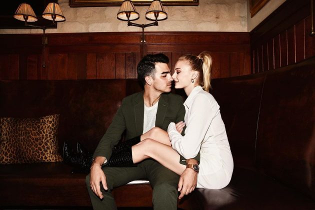 Joe Jonas and Sophie Turner's new matching tattoos aren't their first. (Photo: Instagram)
