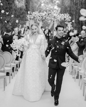 Jonas and Turner recently held a wedding ceremony in Paris after unexpectedly tying the knot in Las Vegas. (Photo: Instagram)