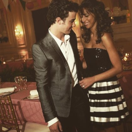 The day she agreed to become the first Mrs. Jonas. (Photo: Instagram)