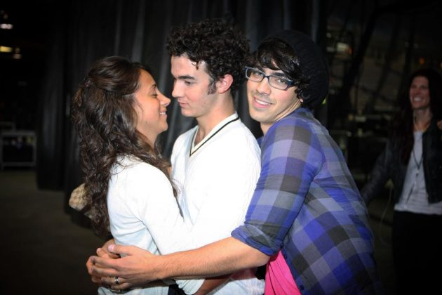 The cutest pictures of Kevin, Danielle… and Joe, of course. (Photo: Instagram)