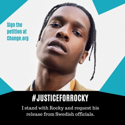 She and husband Kanye West have lobbied President Donald Trump in an effort to help free rapper A$AP Rocky from Swedish prison. (Photo: Instagram)