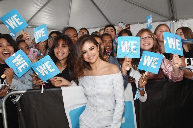 Give back. Selena truly knows the power her platform holds, and she's never hesitated to raise awareness on what matter ins this world. (Photo: Instagram)
