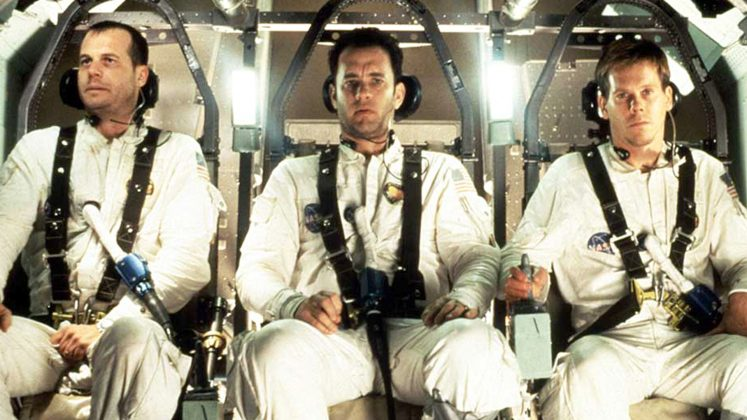 Apollo 13—A real-life story about 3 astronauts struggling to find a way to get safely back to earth. The film is human ingenuity and perseverance at its best. (Photo: Release)