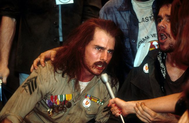 Born on the Fourth of July— This is the story of Ron Kovic, a disgruntled veteran mistreated by the very nation to which he sacrificed the ability to walk. (Photo: Release)