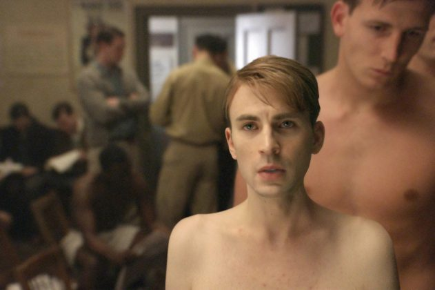Captain America—A film that has become a staple of American cinema in recent years. Watch Steve Rogers transform from scrawny civilian into super soldier to fight in WWII. (Photo: Release)