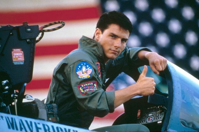 Top Gun—What's more American than Maverick, Iceman, and shirtless beach volleyball? Flyboys in the Navy's Elite Fighter Weapons School compete for the top spot in the class. (Photo: Release)