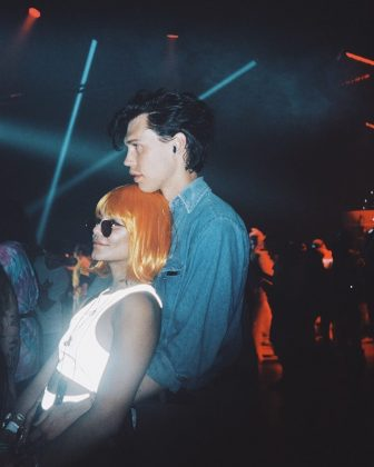 Queen of Coachella and Austin Butler partying it up at Indio, California. (Photo: Instagram)