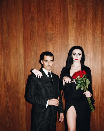 The couple then again rocked our Halloween with their rendition of Morticia and Gomez. (Photo: Instagram)