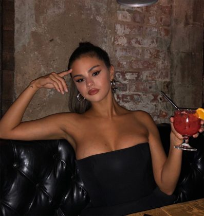 """Selena did the exact opposite of what she said she was going to do when she got well again. She said she was not going to drink anymore,"" a source revealed. (Photo: Instagram)"