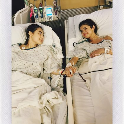 In the summer of 2017, Francia Raisa donated one of her kidneys to Selena Gomez. (Photo: Instagram)