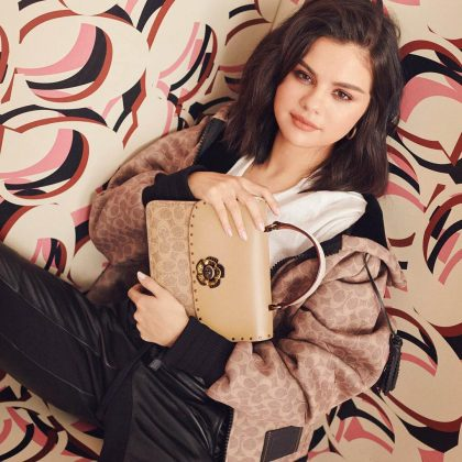 Last year, the singer also collaborated with Coach to create a ready-to-wear collection and even served as the global face for the brand. (Photo: Instagram)