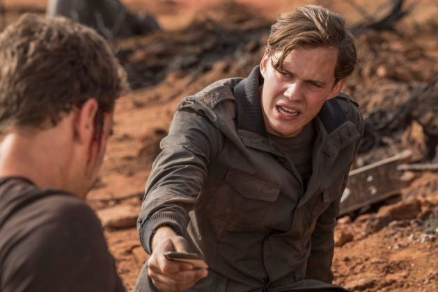 """Although his role in It is undoubtedly the most-high profile of his career, he has already earned a significant fan base thanks to his work in """"Allegiant"""" and """"Atomic Blonde."""" (Photo: Release)"""