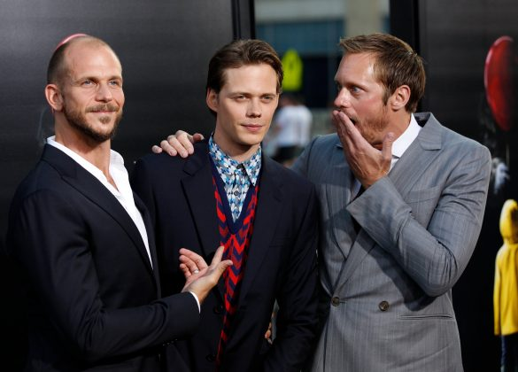 """Bill comes from an acting family. His father is famed actor Stellan Skarsgard, and three of his siblings are actors as well—one of them, Alexander Skarsgard from """"Big Little Lies."""" (Photo: WENN)"""
