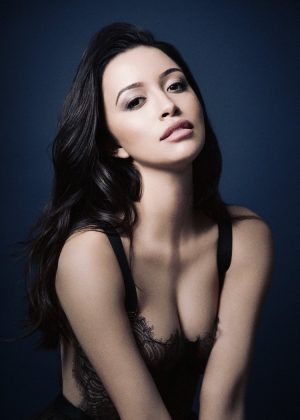 Who is Christian Serratos? And does she have what it takes to fill in the shoes of Selena Quintanilla (and JLo's, for that matter)? (Photo: Instagram)