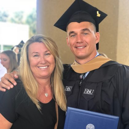 He's college educated. Tyler majored in Communications at Wake Forest University. He also received his MBA from Florida Atlantic University. (Photo: Instagram)