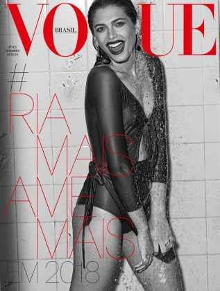 Following Vogue Paris, Valentina also posed for the covers of Vogue Brazil and Vogue Germany later that same year. (Photo: Instagram)