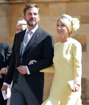 Isabel May was even seated second row at the Duke and Duchess of Sussex' wedding. (Photo: WENN)