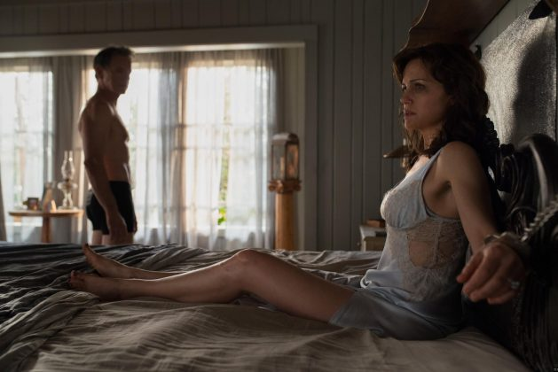 """Gerald's Game"" becomes the ultimate nightmare when a husband handcuffs his wife to the bed in an attempt to rekindle their sex life but falls down dead, leaving her trapped. (Photo: Release)"