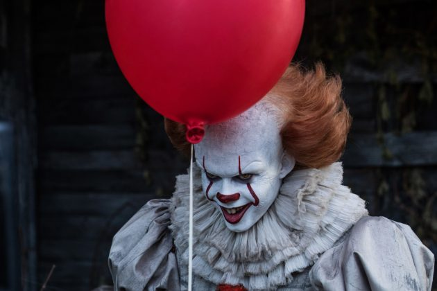 "Bill Skarsgard gave Tim Curry's Pennywise a run for his money in the ""It"" remake. The movie captures all the wonder and terror of youth, bursting into shocking scares. (Photo: Release)"