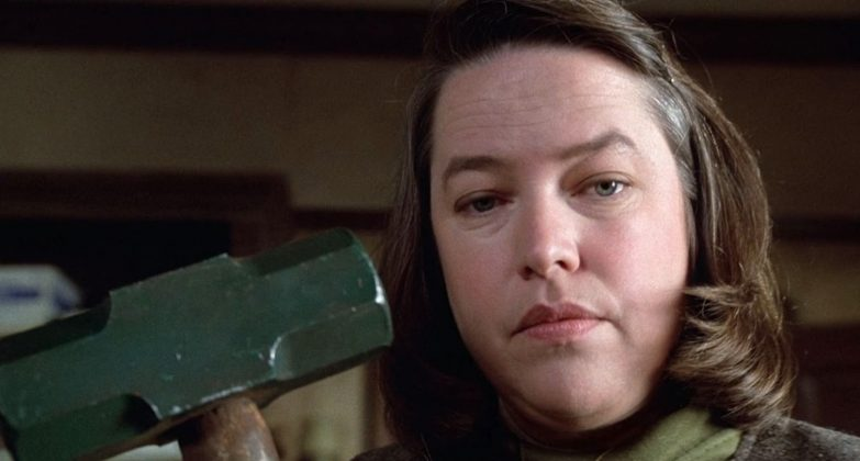 "Only one King adaptation has ever won an Academy Award, and it's ""Misery."" Kathy Bates took home an Oscar for her role as a mentally disturbed nurse / kidnapper. (Photo: Release)"