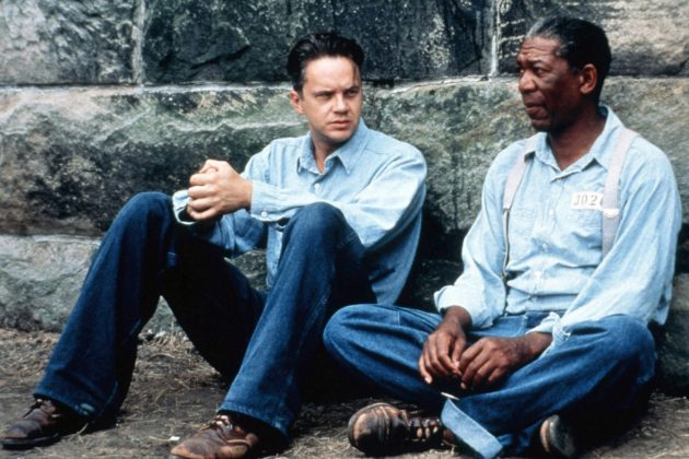 """The Shawshank Redemption"" is one of the great dramas of the 90's, with dramatic storytelling, unforgettable performances, gorgeous cinematography, and beautiful music. (Photo: Release)"