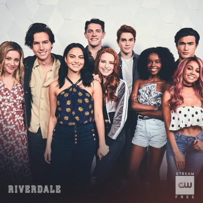 """Camila Mendes' fame sky rocketed when she joined the cast of """"Riverdale"""" as the iconic Veronica Lodge. (Photo: WENN)"""