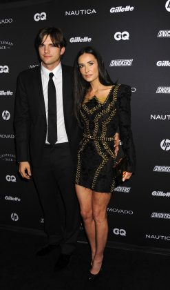 Two weeks ago, Demi Moore revealed she suffered a miscarriage while dating Ashton Kutcher. (Photo: WENN)