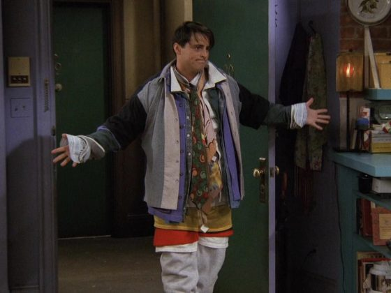 """""""Could I be any more…"""" is an easy one to slip into conversation, just like Chandler did whenever he would say anything, like, ever. (Photo: Release)"""