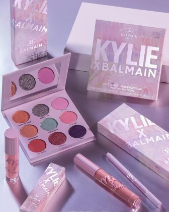 Kylie Cosmetics' latest collection will feature an eyeshadow palette, lipstick, and liner and lip gloss. (Photo: Instagram)