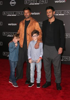 In 2010, Ricky Martin revealed he welcomed sons Valentino and Matteo via surrogate. (Photo: Instagram)