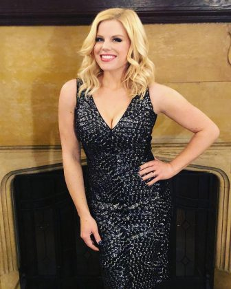 """Jenna isn't his first famous girlfriend. He dated """"Smash"""" star Megan Hilty for six years. """"She's a warm, caring, immensely talented, lovely human being,"""" he said of his ex. (Photo: Instagram)"""