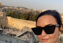 Demi Lovato's trip to Israel sparked backlash. (Photo: Instagram)